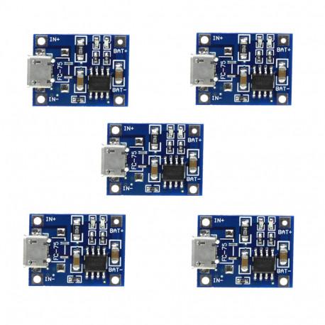 Контроллер заряда 1A 3,7V, в Перми
