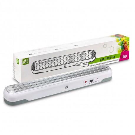 Купить Светильник аккумуляторный ASD СБА 1093С 120LED
