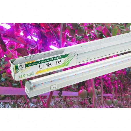 Светильник светодиодный ASD СПБ-T8-ФИТО 14Вт 230В IP40 1120мм