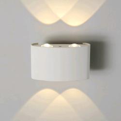 1555 TECHNO настенный LED белый IP54, в Перми