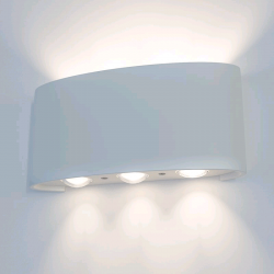 Светильник уличный Электростандарт 1551 TECHNO Twinky Trio настенный LED серый IP54