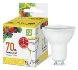 Лампа СД ASD LED A60 STD 230В Е27 3000К в ассортименте