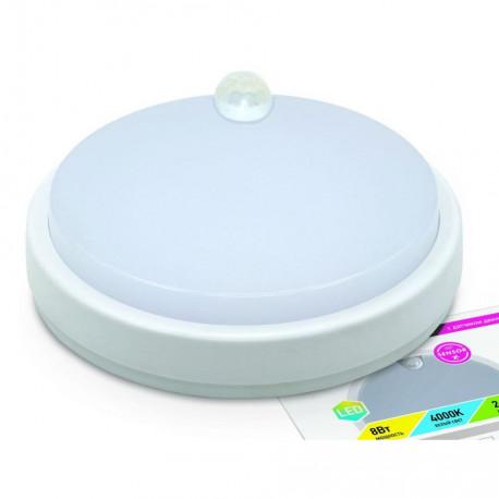Светильник влагозащищённый ASD СПП-2303 ДД круг 12Вт 4000К IP65