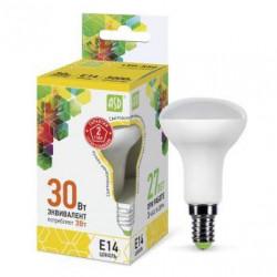 Лампа светодиодная ASD LED-R50-standart 3Вт 3000К Е14