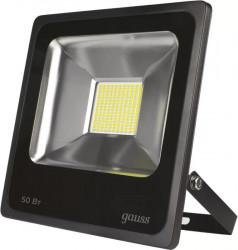 Прожектор светодиодный Gauss LED 50W IP65 6500К черный (40)