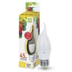 Лампа светодиодная ASD LED-Свеча на ветру-standart 5Вт 3000К Е27