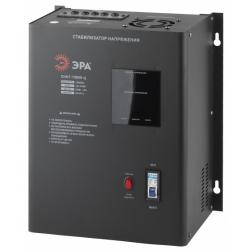 ЭРА Стабилизатор напряжения настенный, ц.д., 140-260В/220/В, 10000ВА