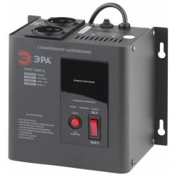 ЭРА Стабилизатор напряжения настенный, ц.д., 140-260В/220/В, 1000ВА