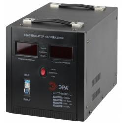 ЭРА Стабилизатор напряжения переносной, ц.д., 140-260В/220/В, 10000ВА