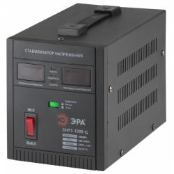 ЭРА Стабилизатор напряжения переносной, ц.д., 140-260В/220/В, 1000ВА