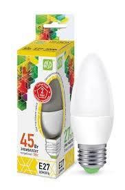 Лампа светодиодная ASD LED-Свеча-standart в ассортименте, в