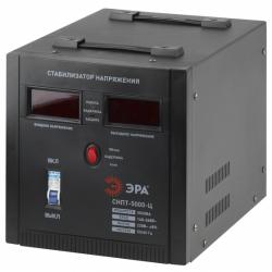 ЭРА Стабилизатор напряжения переносной, ц.д., 100-260В/220В, 5000ВА