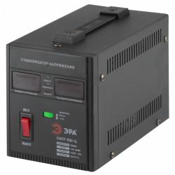 ЭРА Стабилизатор напряжения переносной, ц.д., 100-260В/220В, 500ВА
