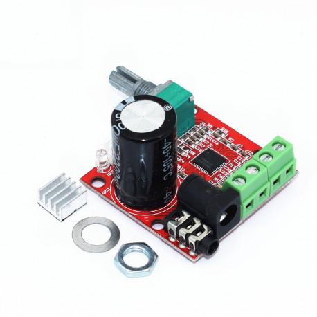 Усилитель Hi-Fi PAM8610 2X10 Вт,12В D Класс, в Перми
