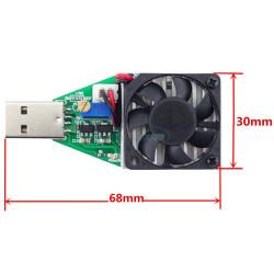 Электронный нагрузочный резистор USB