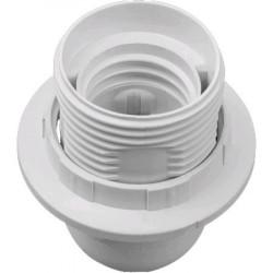 Патрон люстровый с кольцом Navigator NLH-PL-R1-E27 пластик, белый