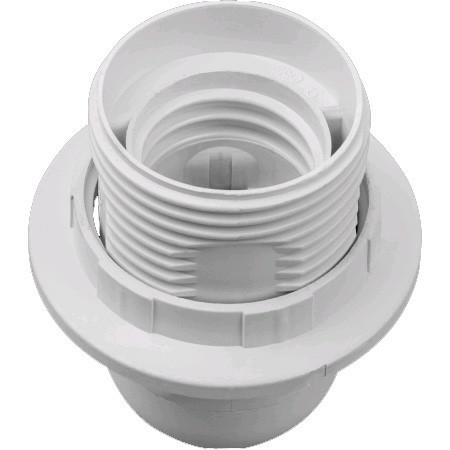 Патрон люстровый с кольцом Navigator NLH-PL-R1-E27 пластик