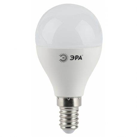 Лампа СД ЭРА SMD P45 9Вт 840 E14 (10/100), в Перми