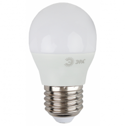 Лампа СД ЭРА SMD P45 9Вт 840 E27 (10/100)