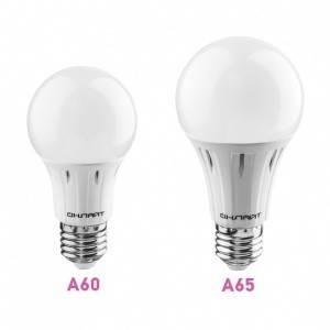 Лампа СД OLL-A60-12-230-2.7K-E27 в ассортименте, в Перми