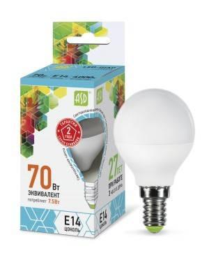 Лампа Онлайт СД OLL-A60-10-230-E27 в ассортименте,в Перми