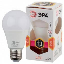 Лампа СД ЭРА SMD A60 13Вт 827 E27 (10/100)