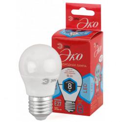 Лампа СД ЭРА ECO Р45 8Вт 840 Е27 (10/100), в Перми