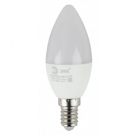 Лампа СД ЭРА ECO В35 6Вт 827 Е14 (10/100), в Перми