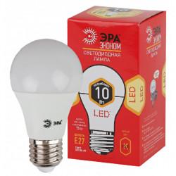 Лампа СД ЭРА ECO А60 10Вт 827 Е27 (10/100), в Перми