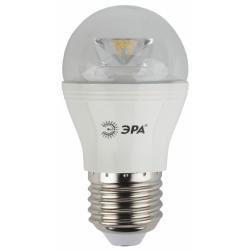 Лампа СД ЭРА CLEAR P45 7Вт 840 E27 (6/60)