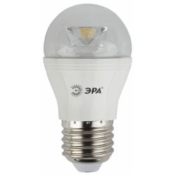 Лампа СД ЭРА CLEAR P45 7Вт 827 E27 (6/60)