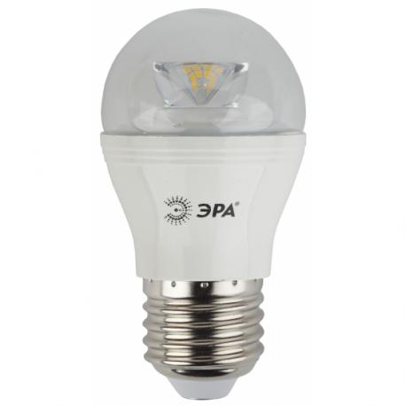 Лампа СД ЭРА CLEAR P45 7Вт 827 E27 (6/60), в Перми