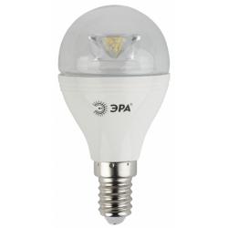 Лампа СД ЭРА CLEAR P45 7Вт 827 E14 (6/60)
