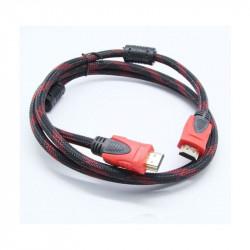 Кабель HDMI-HDMI в тканевой оплетке