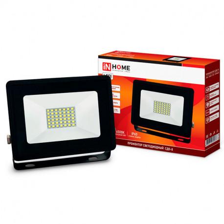 Прожектор светодиодный СДО-8 20Вт 230В 6500К 1900Лм IP65, в