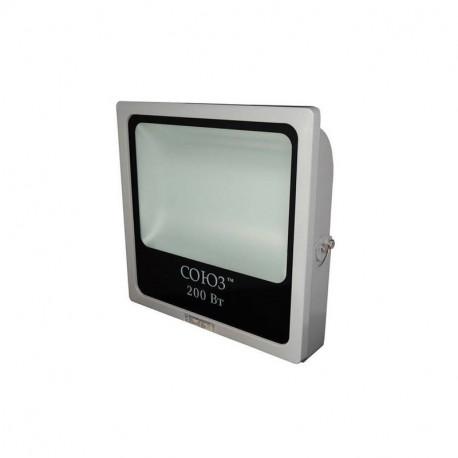 Прожектор светодиодный плоский СОЮЗ SFLLED-SMD-200-865-GR-IP65
