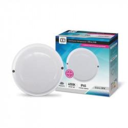 Светильник влагозащищённый ASD СПП-А-2505 датчик круг 18Вт 4000К IP65 220мм(1/20)