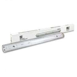 Светильник влагозащищенный ASD ССП-458 2х18ВТ LED-T8R/G13 IP65 матовый(1/12)