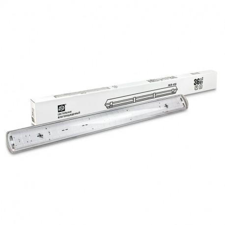 Светильник влагозащищенный ASD ССП-458 2х18ВТ LED-T8R/G13 IP65