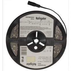 Лента СД Navigator NLS-5050WW30-7.2-IP20-12V R5 Теплая белая 3000К