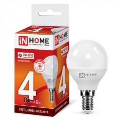 Купить Лампа светодиодная LED-ШАР-VC 4Вт 230В Е14 6500К 360Лм