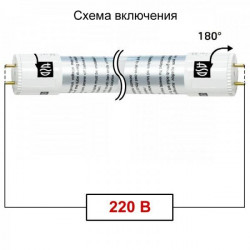 Фонарь ЭРА R2AA Универсальный 3хLED резина, 2хАА (48/144)