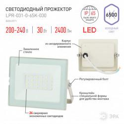 купить пермь Прожектор светодиодный ЭРА LPR-031-0-65K-030 белый