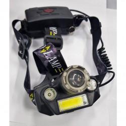 Налобный светодиодный фонарь Police T44-18650