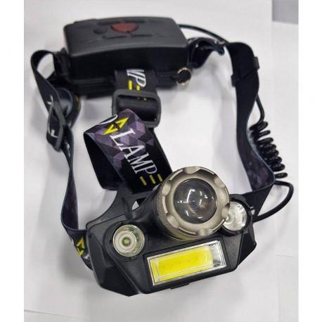 Налобный светодиодный фонарь Police T44-18650, в Перми