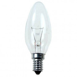 Лампа Philips свеча 40Вт Е14 (10/100) 011633