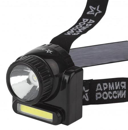 Фонарь ЭРА АРМИЯ РОССИИ GA-501 налобный Гранит, в Перми
