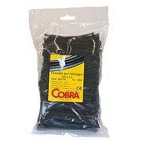 Хомут нейлоновый 200x2,5 Cobra черный, в Перми
