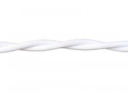 Провод РЕТРО ВВГ 2х1,5 ГОСТ белый (50)