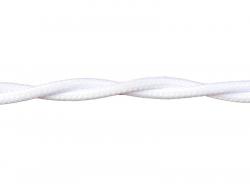 Провод РЕТРО ВВГ 3х1,5 ГОСТ белый (50)